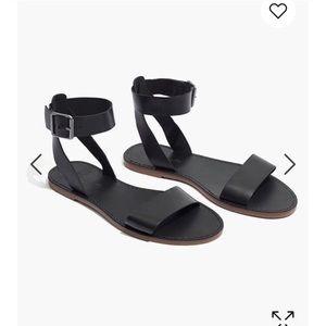 NWOT Madewell Boardwalk Sandals